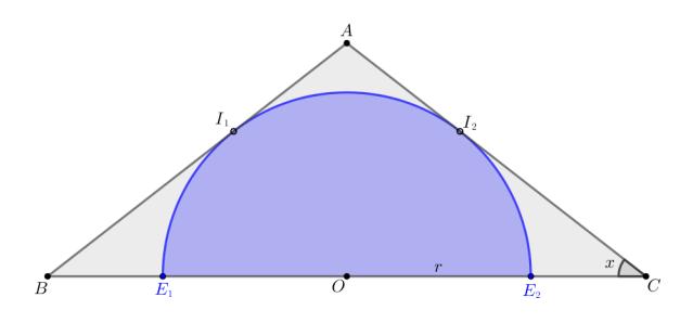 triangle_circumscribing_semicircle